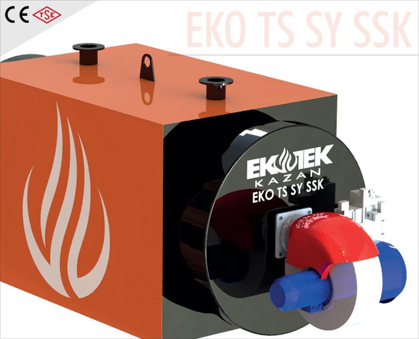 Sıvı Yakıtlı Sıcak Su Kazanı EKO SSK